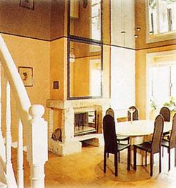Spanndecke im Wohnraum