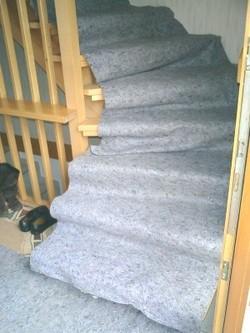 Schutz eines Treppenhauses